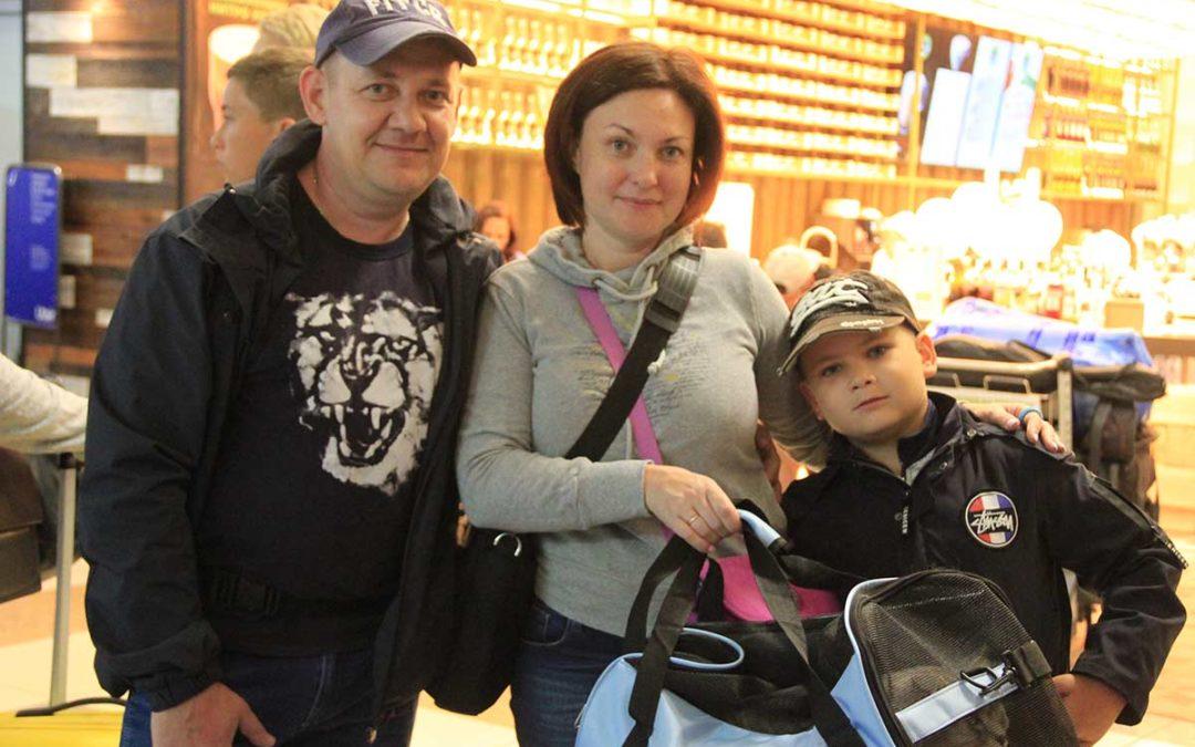 Aleksandr and Yulia O from Novosibirsk